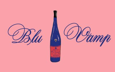 Blu Vamp Wine Website Ad