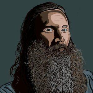 Crazy amazing beard