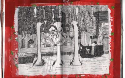 Collage Sketchbook: Page 15