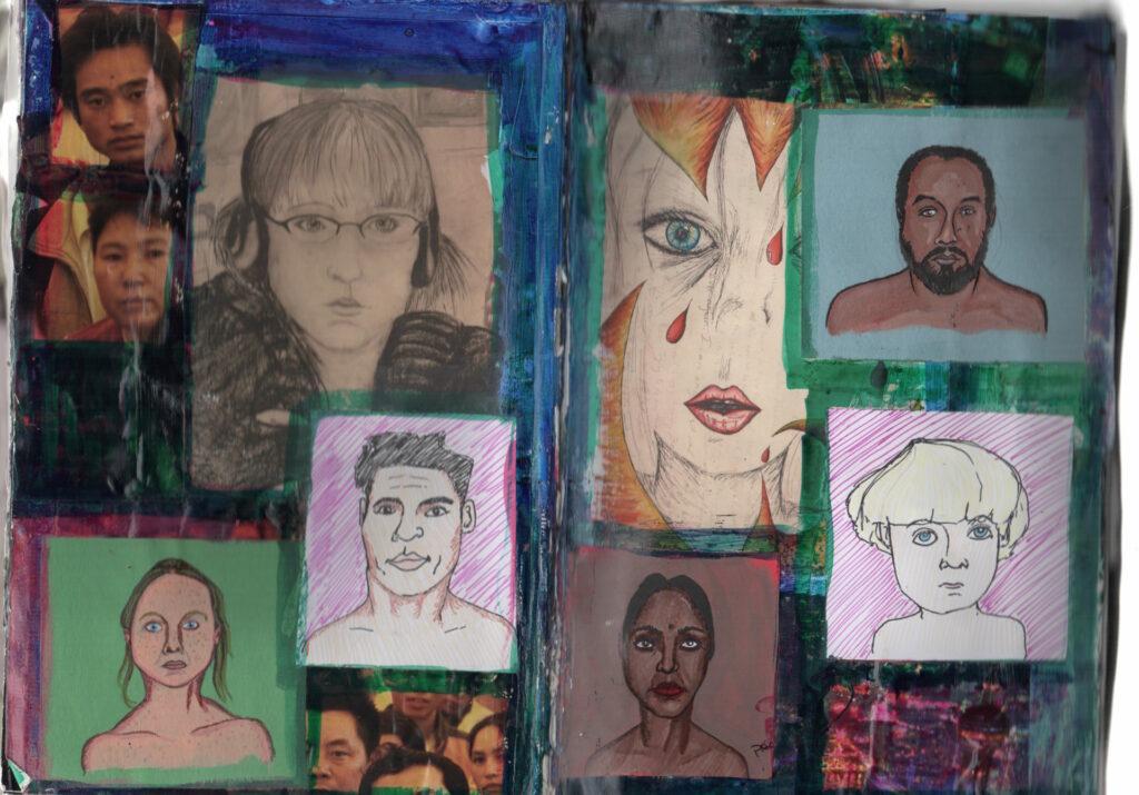Collage Sketchbook 8