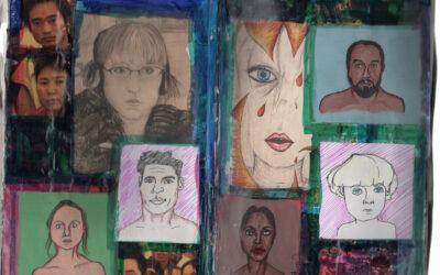 Collage Sketchbook: Page 8