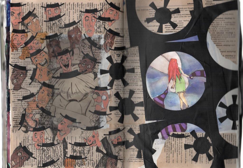 Collage Sketchbook 9