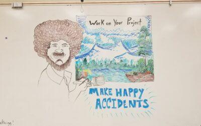 White Board Art!